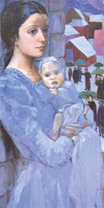 C-121 THE MAID WITH CHILD