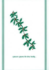 C-281 GREEN GROW'TH THE HOLLY
