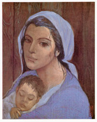 C-211 MADONNA OF THE MOUNTAINS