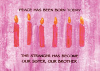 C-276 CANDLES OF PEACE