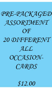 ALL OCCASION ASSORTMENT OF 20 CARDS