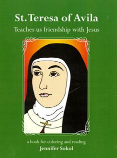ST. TERESA OF AVILA COLORING BOOK