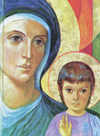 C-192 ICON OF MARY