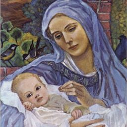 C-246 MADONNA OF THE BIRDS