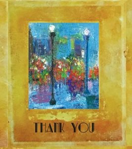 MC-896 BEING REMEMBERED –  THANK YOU CARD